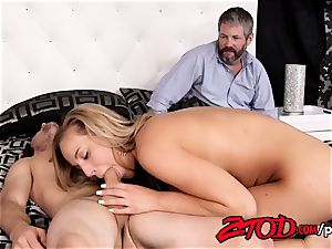 Olivia Austin penetrates her stepson