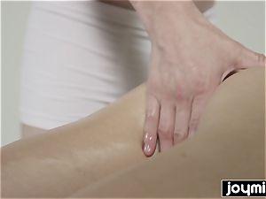 JOYMII Katy Rose dripping wet massage for tight fuckbox