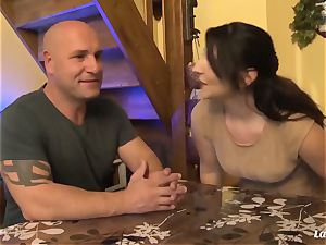 LA newcomer - hot anal smash with cool French inexperienced