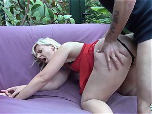 LaCochonne - blondie cockslut Candys loves a fine anal bang