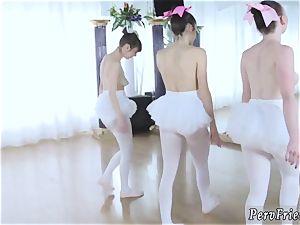 little nubile assfuck going knuckle deep first-ever time Ballerinas