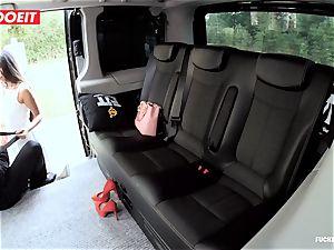 LETSDOEIT - kinky nubile boinks and deep throats cab Driver