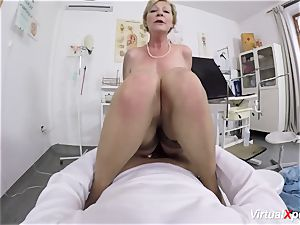 chesty granny gets pov poked by her doc