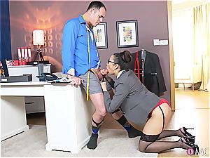 immense jugged japanese tailor fulfills her client sensitive dreams