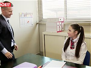 LETSDOEIT - Rebecca Tricks Academy Principal Into fuck-a-thon