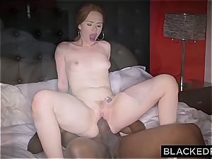 Ella Hughes exerting herself with that gigantic black stiffy of Mandingo