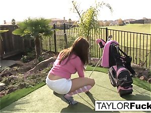 Taylor demonstrates you her massive udders