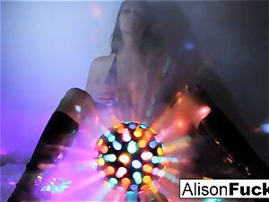 stunning phat boobed disco ball honey