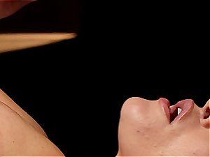 ultra-kinky masseur makes Krissy Lynn wiggle after sensuous enjoy making