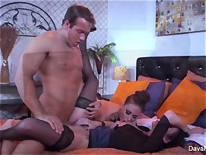Dava gets pulled into a couples three-way