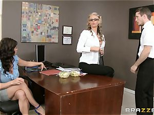 cougar threesome with Phoenix Marie and Kendra lust