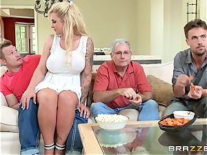 horny stepmom Ryan Conner is crammed by her stepson