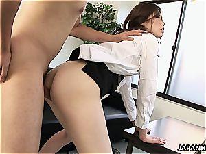 asian office fuck-fest