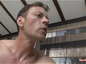 Rocco Siffredi Ravishes 2 cocksluts at Once