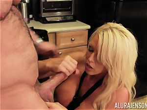 Alura Jenson gets pounded by hefty muscle boy Zeb Atlas