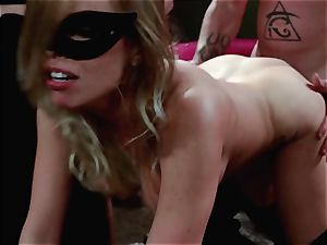 studs watch on as Britney Amber and Nikki Daniels gang poke