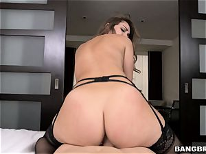 Remy LaCroix in smoking super-fucking-hot lingerie