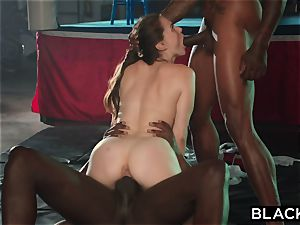BLACKED Tori ebony Is oiled Up And dominated By 2 BBCs