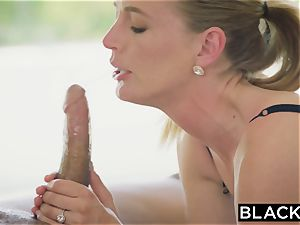 BLACKED red-hot wifey cuckolds hubby with black neighbor