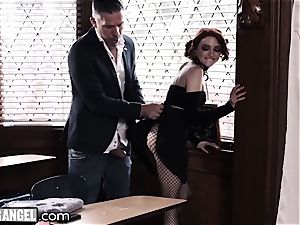 emo stroking In Detention is rectally punished
