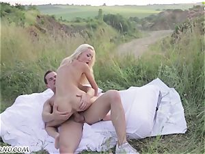 Victoria Puppy - naked ultra-cutie in nature