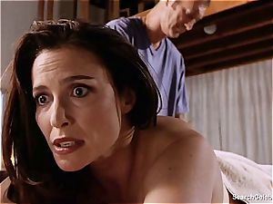 fantastic Mimi Rogers gets her entire figure pawed