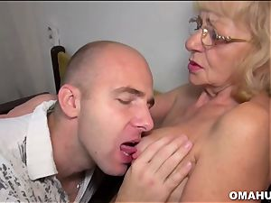 Lusty Mature fuckslut drilled by a crazy man