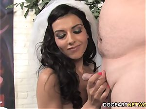Lou Charmelle Gets off the hook Wedding gift hotwife Session