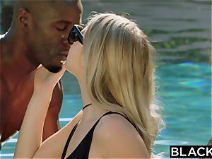 BLACKED.com blonde Gets first big black cock from Brothers buddy