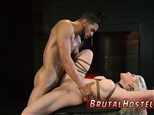 raunchy pain fierce first-ever time Big-breasted ash-blonde hotty Cristi Ann is on vacation