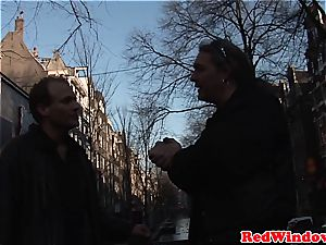 Creampied dutch escort entertains tourist