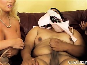 Alura Jenson gets a bit kinky and commences to spank