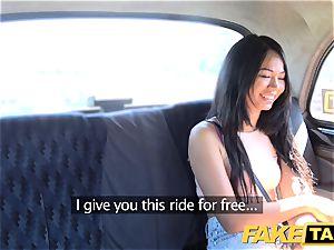 fake taxi luxurious Thai woman with pierced vag lips