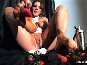 Natasha nice Gets very dirty