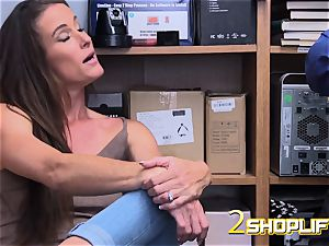 red-hot mummy Sofie is destroyed by insatiable officers loaded jizz-shotgun