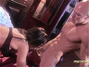 adorned babe Lily Paige is slid a super-sexy length