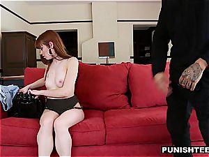 Alexa Nova gets an extraordinary punishment for being a ultra-kinky cockslut