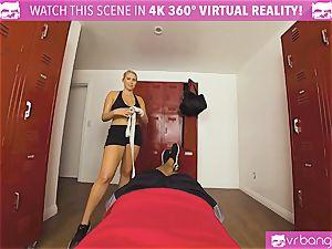 VRBangers.com warm honey perspiring pulverizing Her Boxing Coach