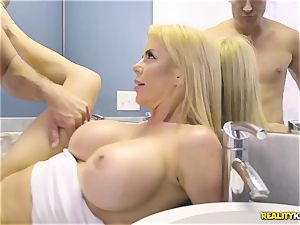 outstanding hump with naughty ginormous boobs milf Alexis Fawx and her stepson