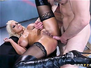 Free ass-fuck appeal with big-titted Spanish senorita Bridgette B