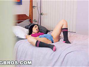 BANGBROS - Valentina Nappi tears up a teen dollar