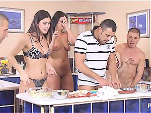 Cooking with jizm part trio