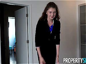 PropertySex Rich man pulverizes ultra-kinky Agent Elena Koshka