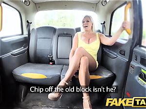 fake cab ginormous globes blondie Michelle Thorne