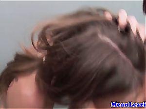 steamy lesbos Riley Reid and Shay Fox enjoy rosy vulva