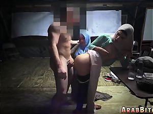 Arab maid screw Sneaking in the Base!