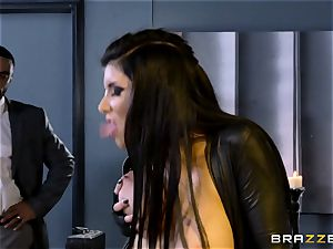 off the hook agent Romi Rain gets honeypot deep with the manager
