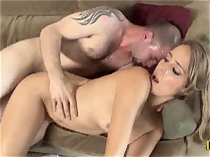 tempting Ella Milano gets her moist vagina screwed