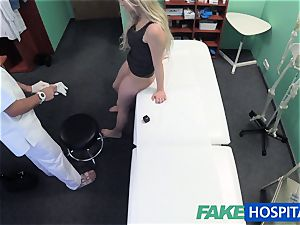 faux polyclinic medic finds sexual surprise in fuckbox