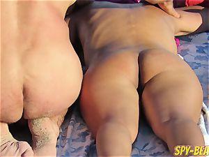 spycam Beach first-timer bare mummies puss And arse Close Up